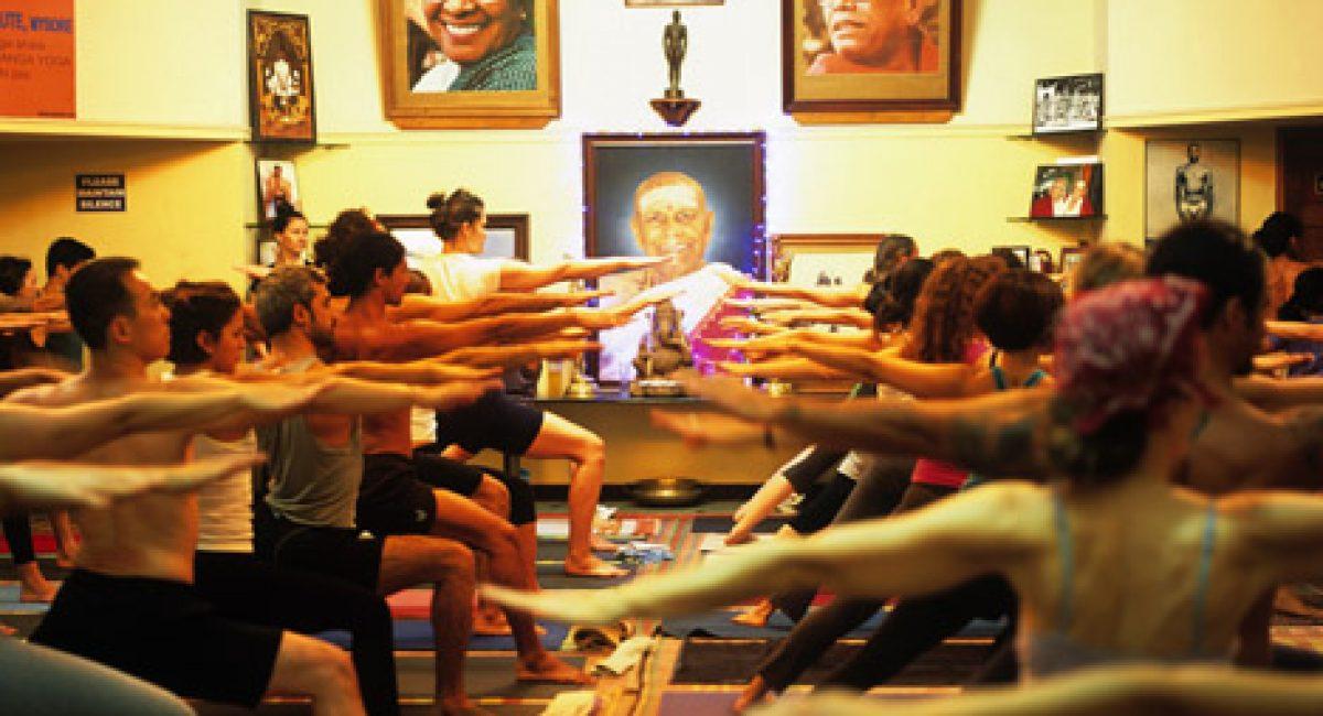 Pattabhi Jois Ashtanga Yoga Institute Mysore